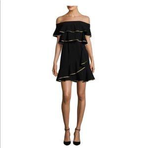 Adorable little black dress, off the shoulder